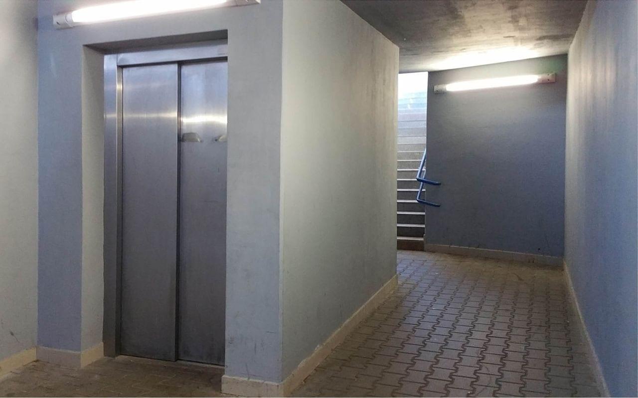 Nádraží Český Brod, podchod, výtahy