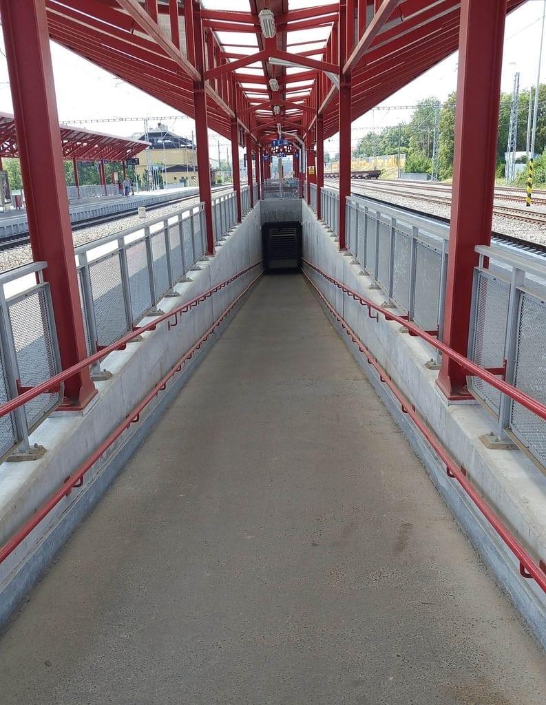 Nádraží Praha-Hostivař - podchod