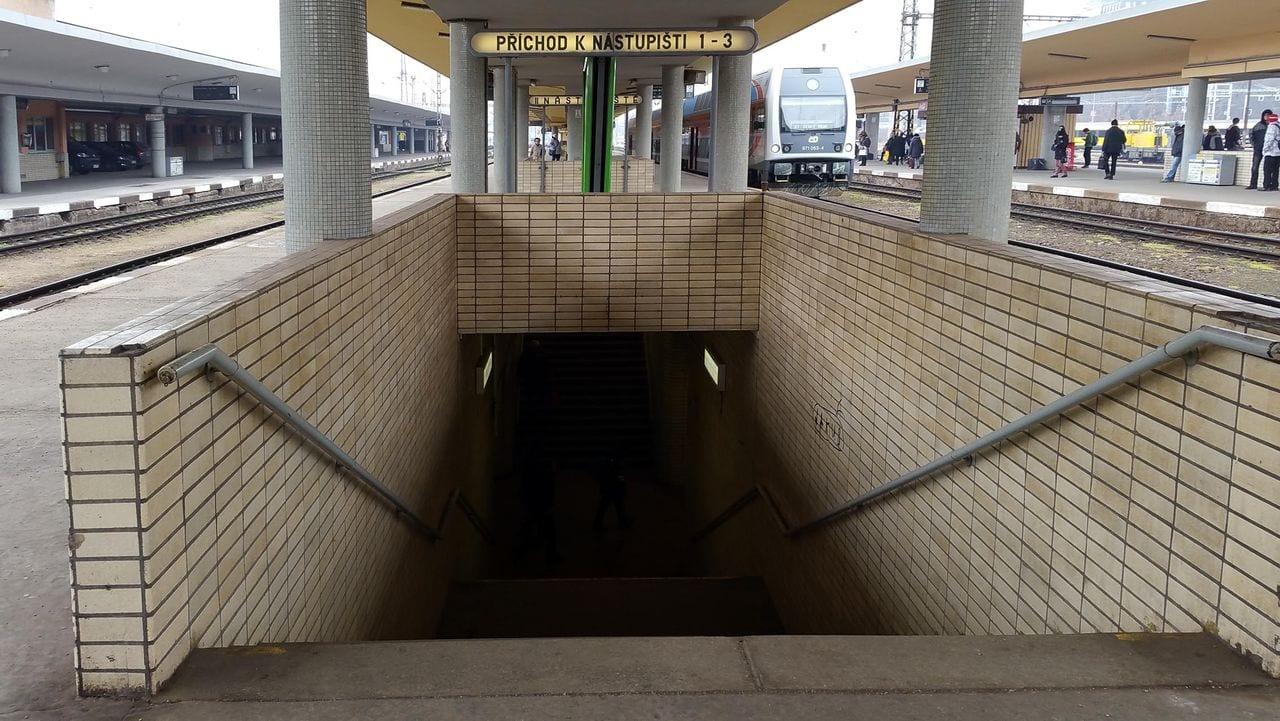Nádraží Praha-Smíchov, nástupiště
