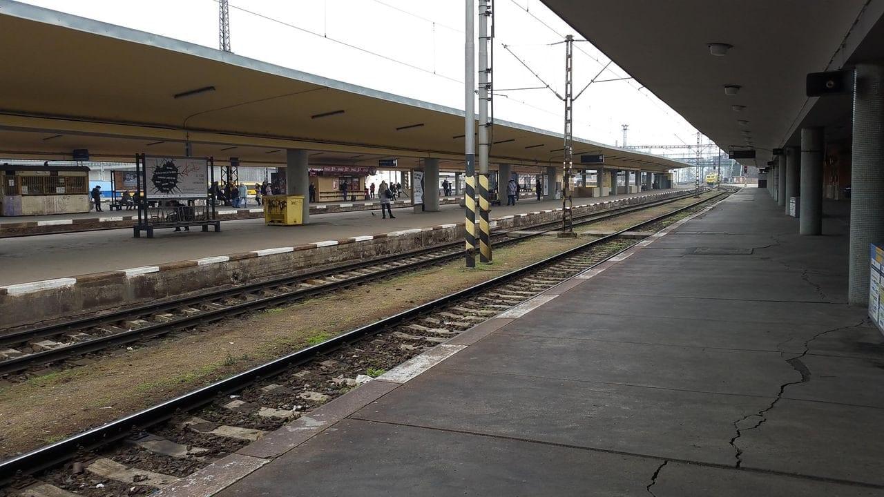 Nádraží Praha-Holešovice, nástupiště