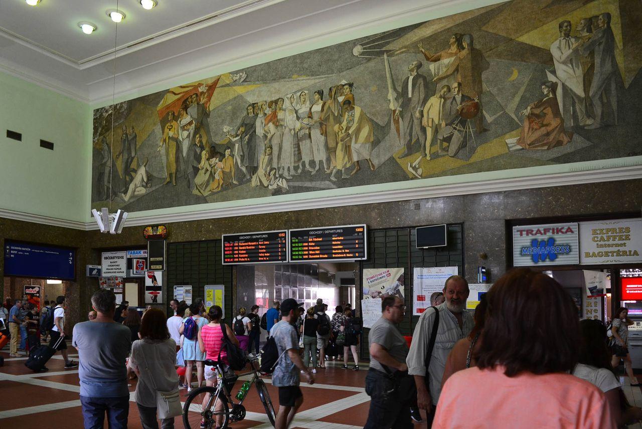 Nádraží Bratislava-hlavná stanica - vestibul