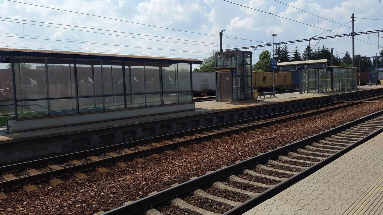 Nástupiště Praha-Uhřiněves