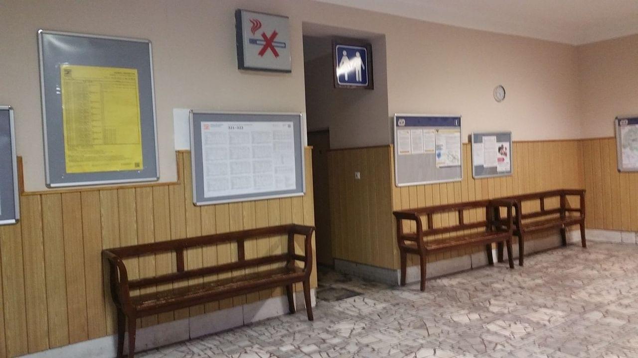 Čekárna na nádraží v Dobré u Frýdku-Místku
