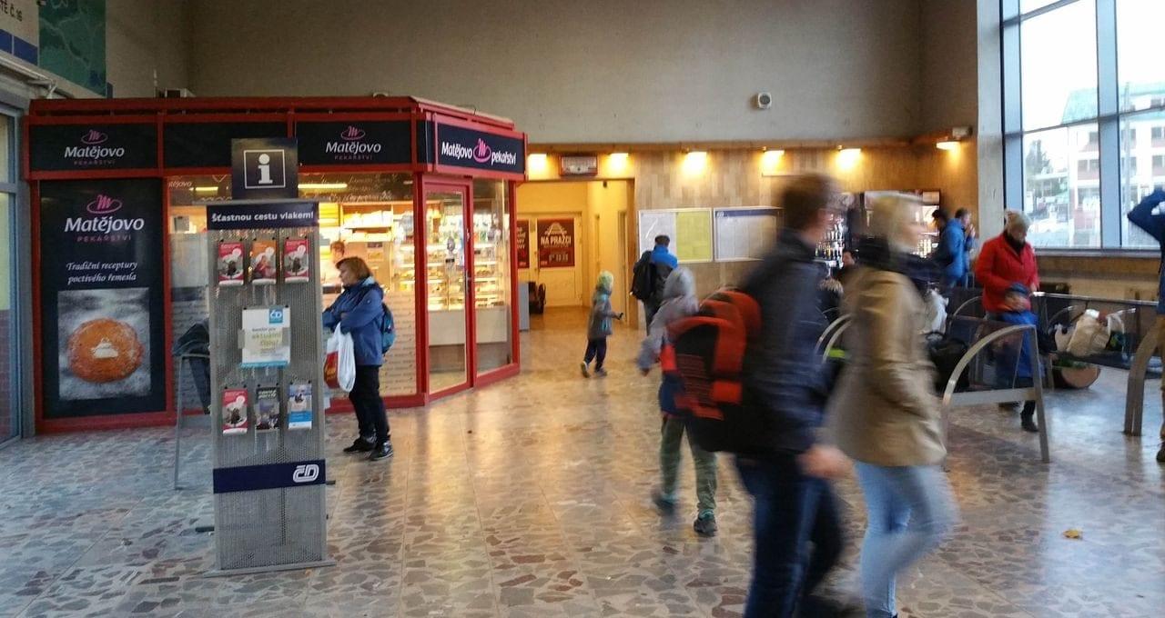 Hala blanenského nádraží