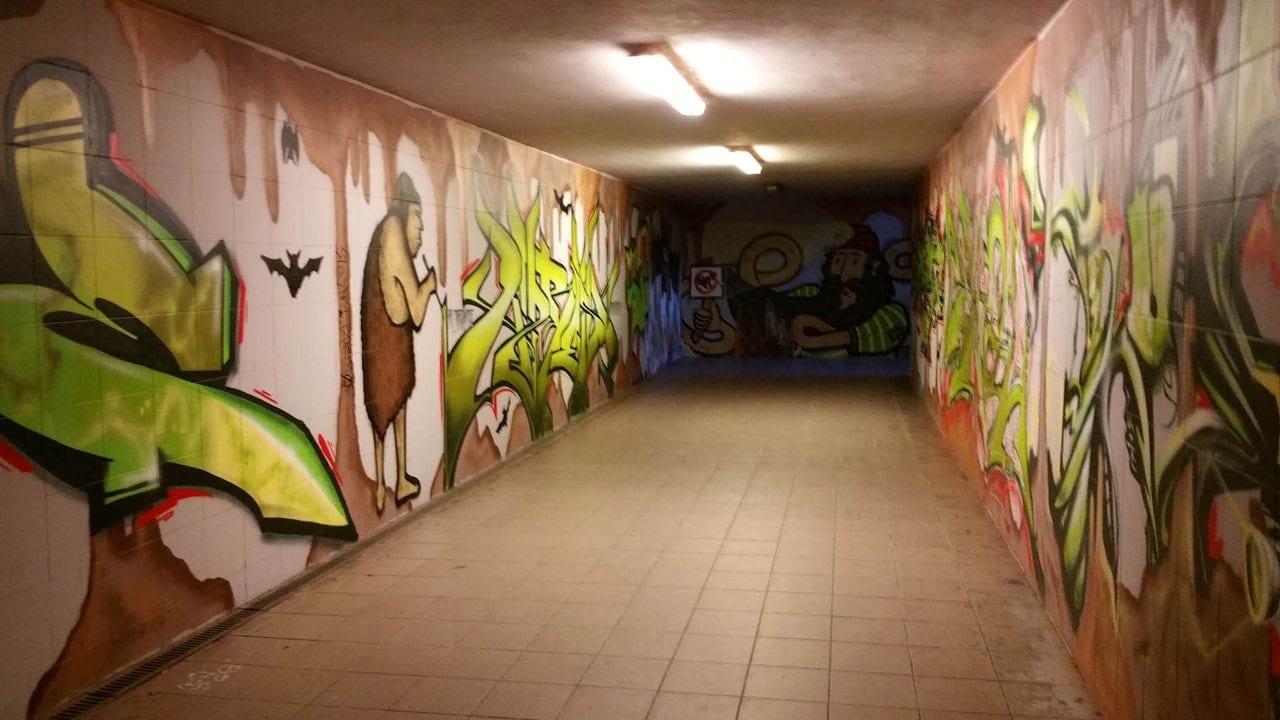 Podchod na III.nástupiště