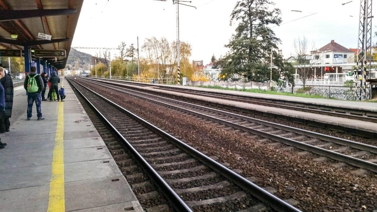 III.nástupiště v Blansku
