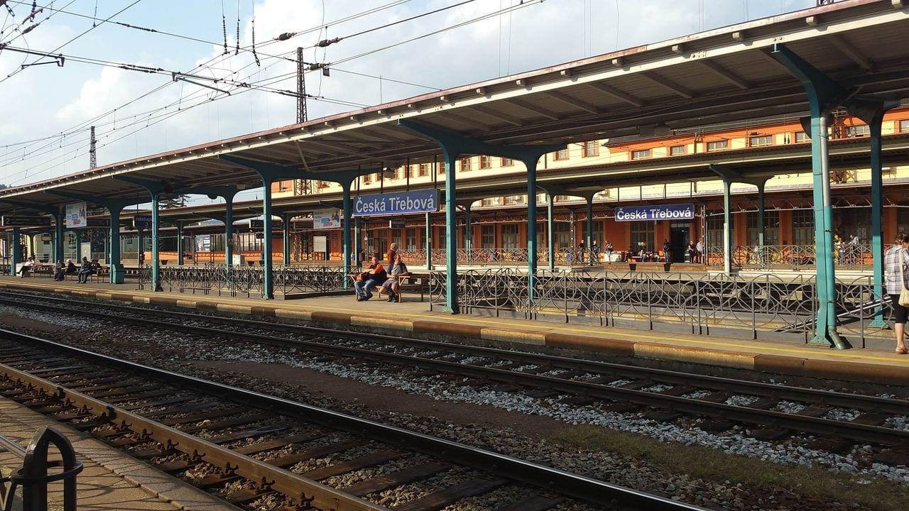 Česká Třebová nástupiště