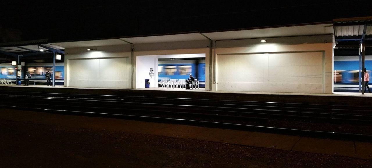 2. a 3.nástupiště na Židenickém nádraží