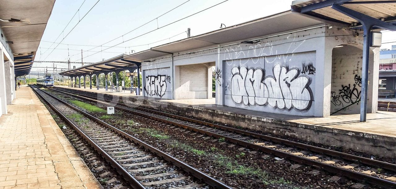 Židenické nádraží o prázdninách 2018