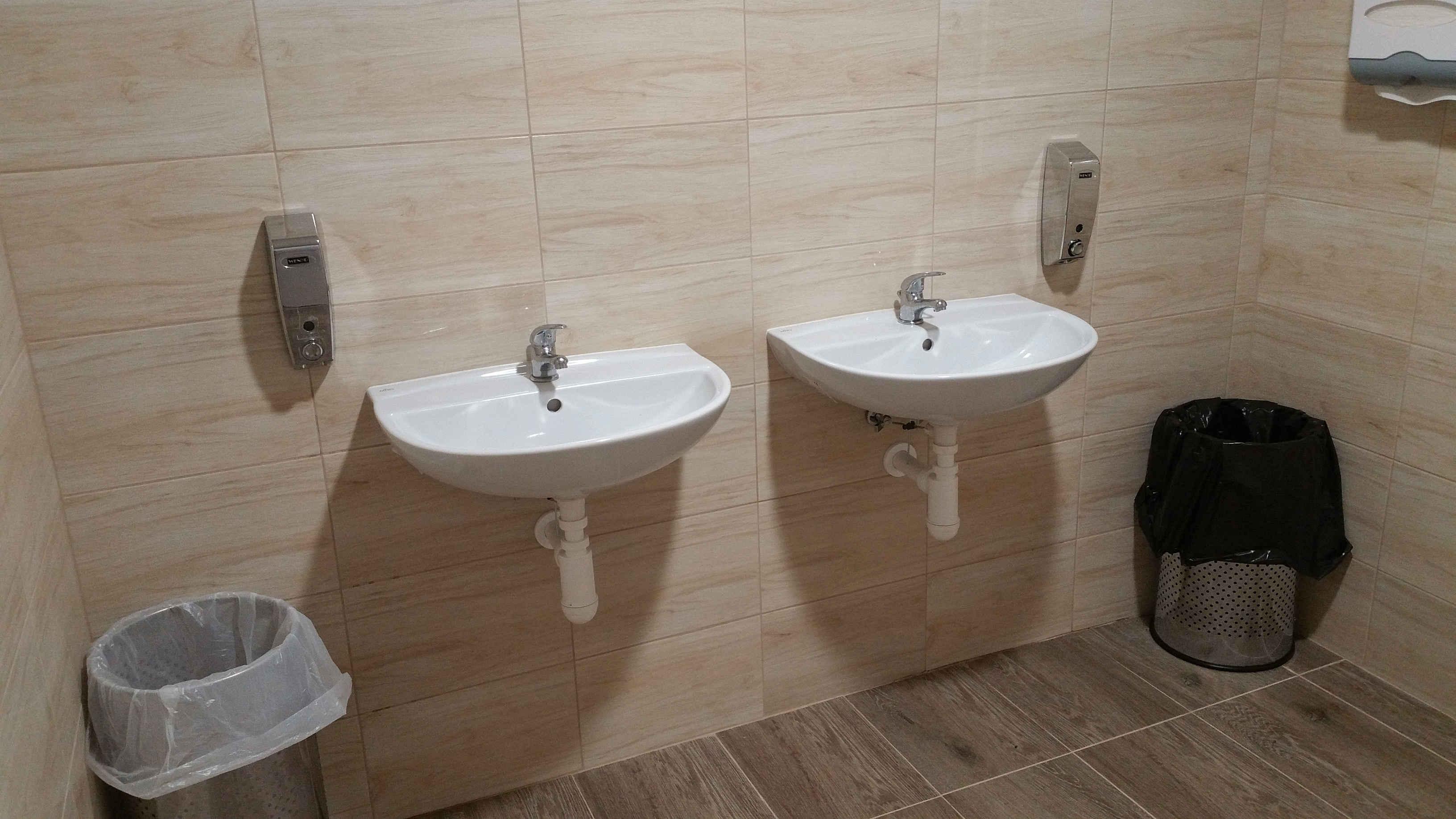 Záchod na Dolním nádraží