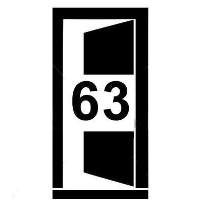 Dveře šířky 63 cm