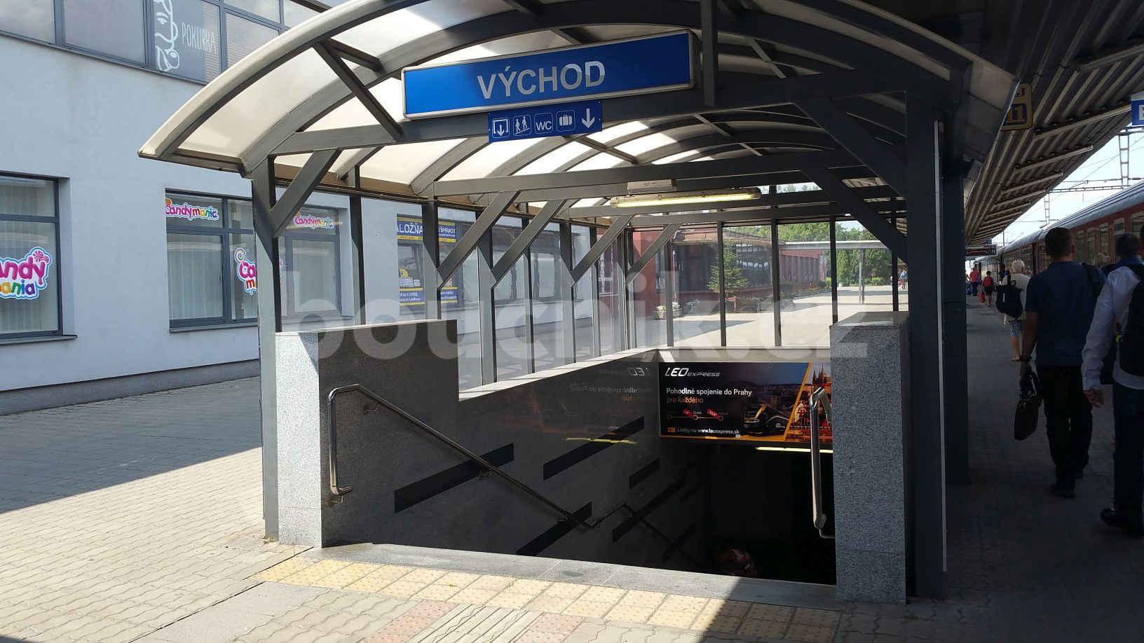 Podchod na nádraží v Košicích