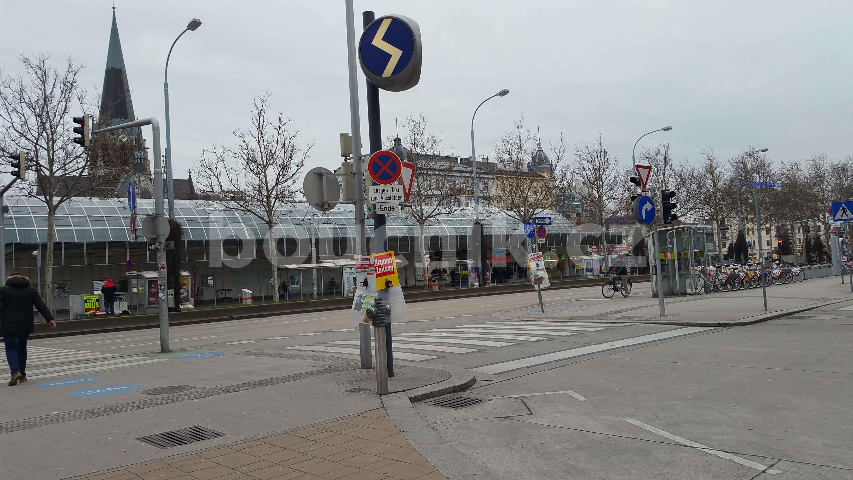 Vídeň západní nádraží