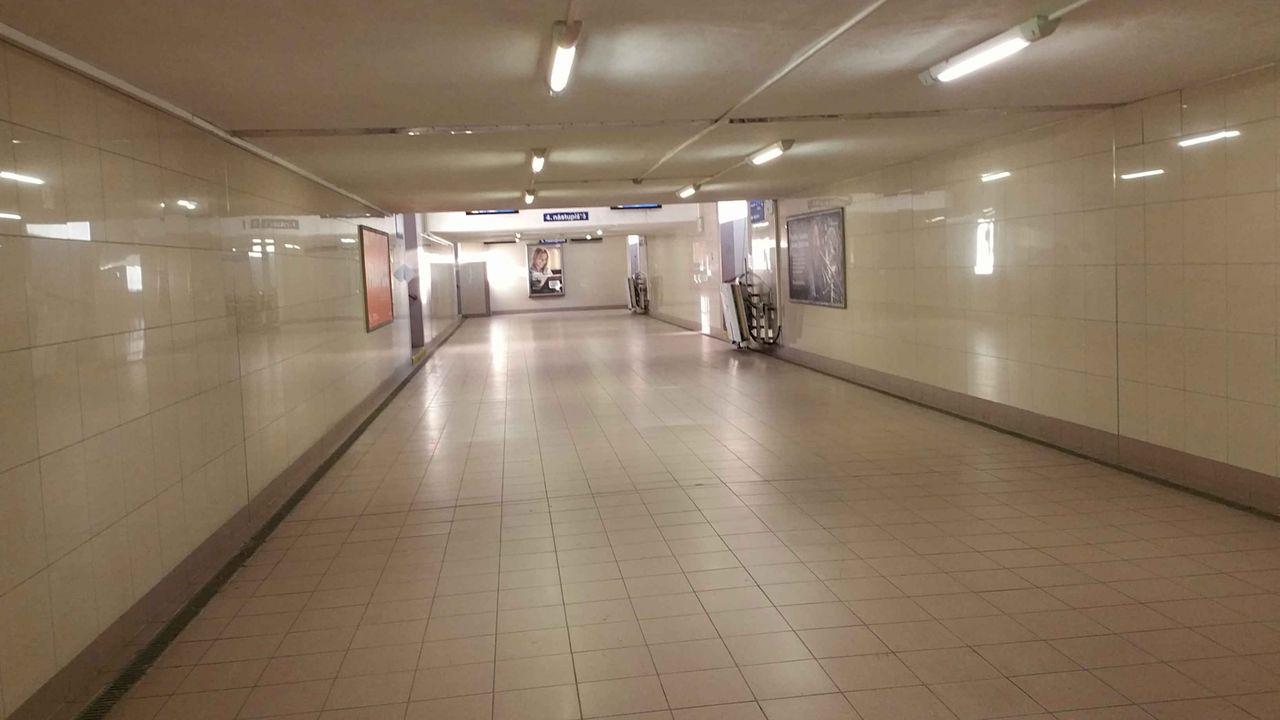 Podchod na nádraží v Kolíně