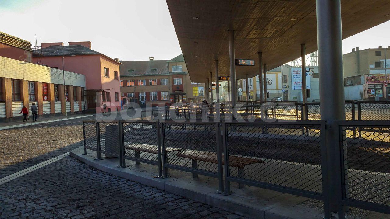Autobusové nádraží v Kolíně