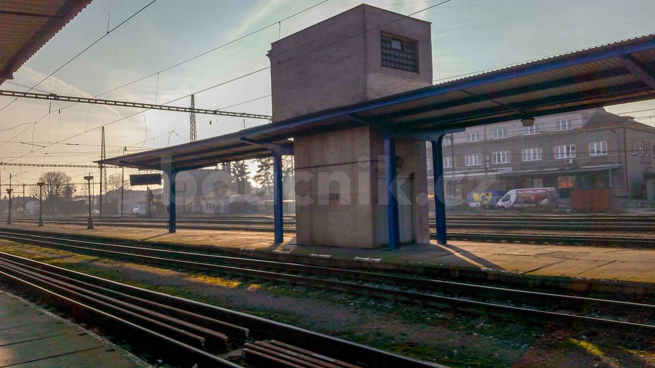 Výtah na nádraží v Nymburku