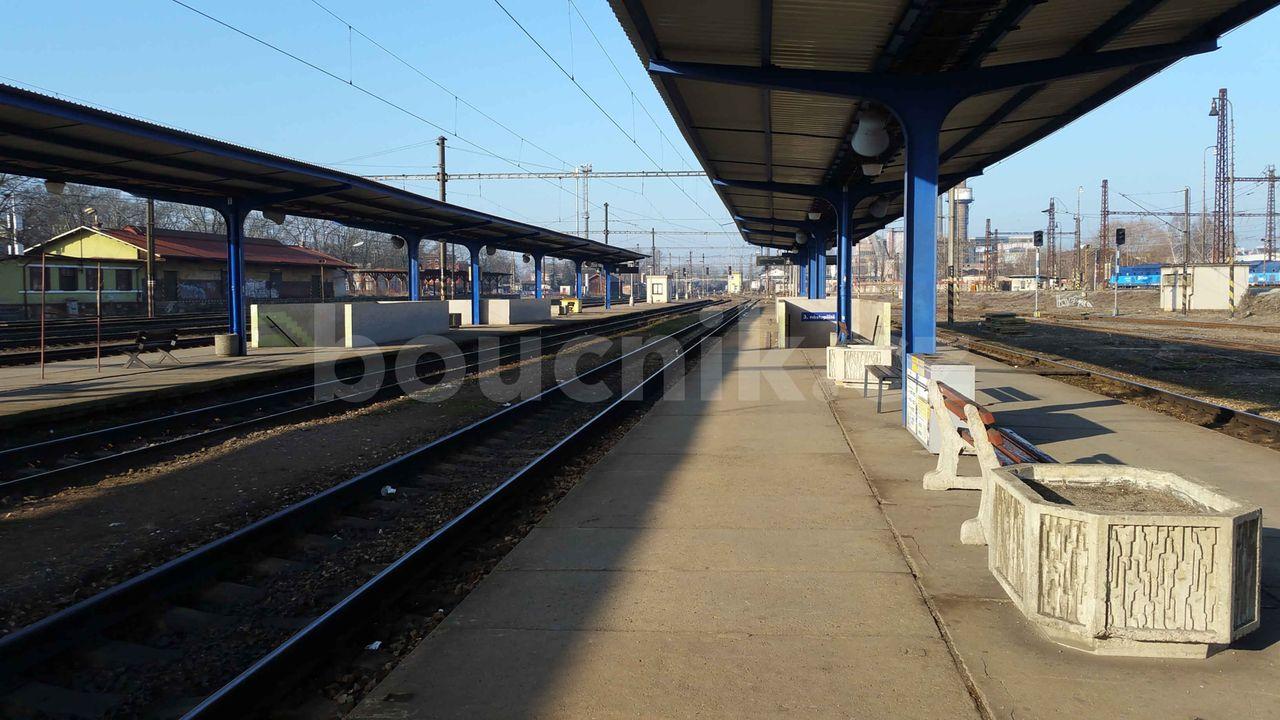 Nymburk nástupiště