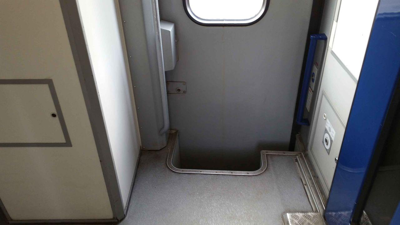 Výstup z vozu Bpee 237