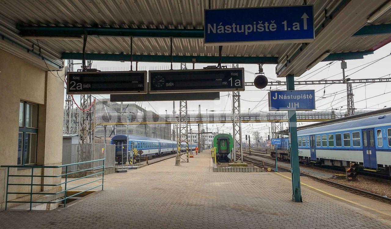 1.nástupiště v Hradci Královém