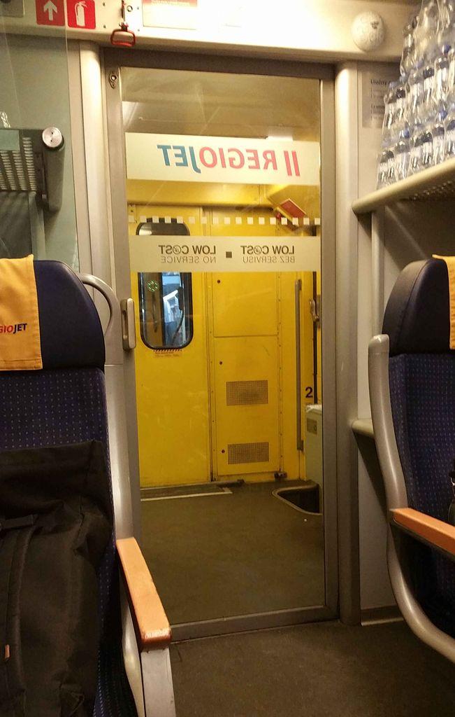 Vůz Low cost RegioJet