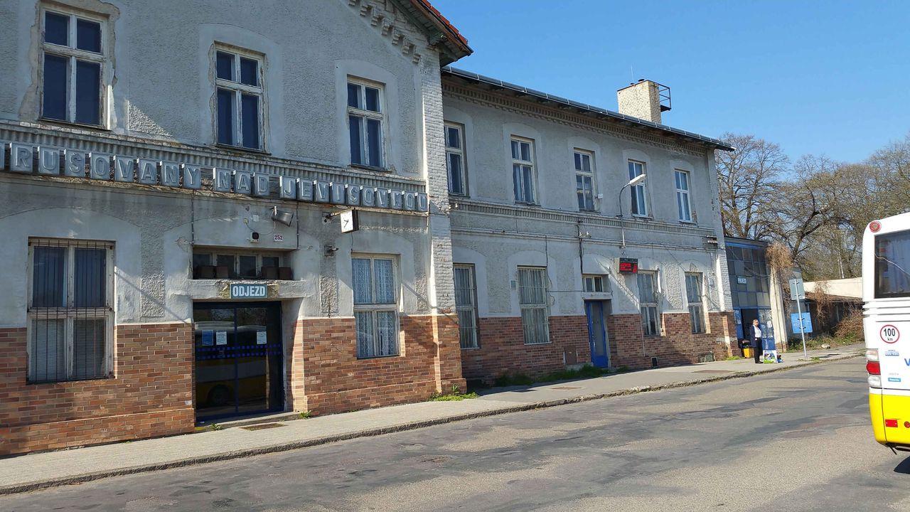 Nádraží Hrušovany nad Jevišovkou - Šanov