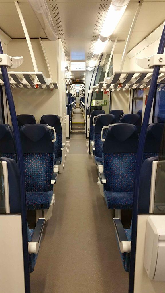 RegioPanter 640, místo k sezení