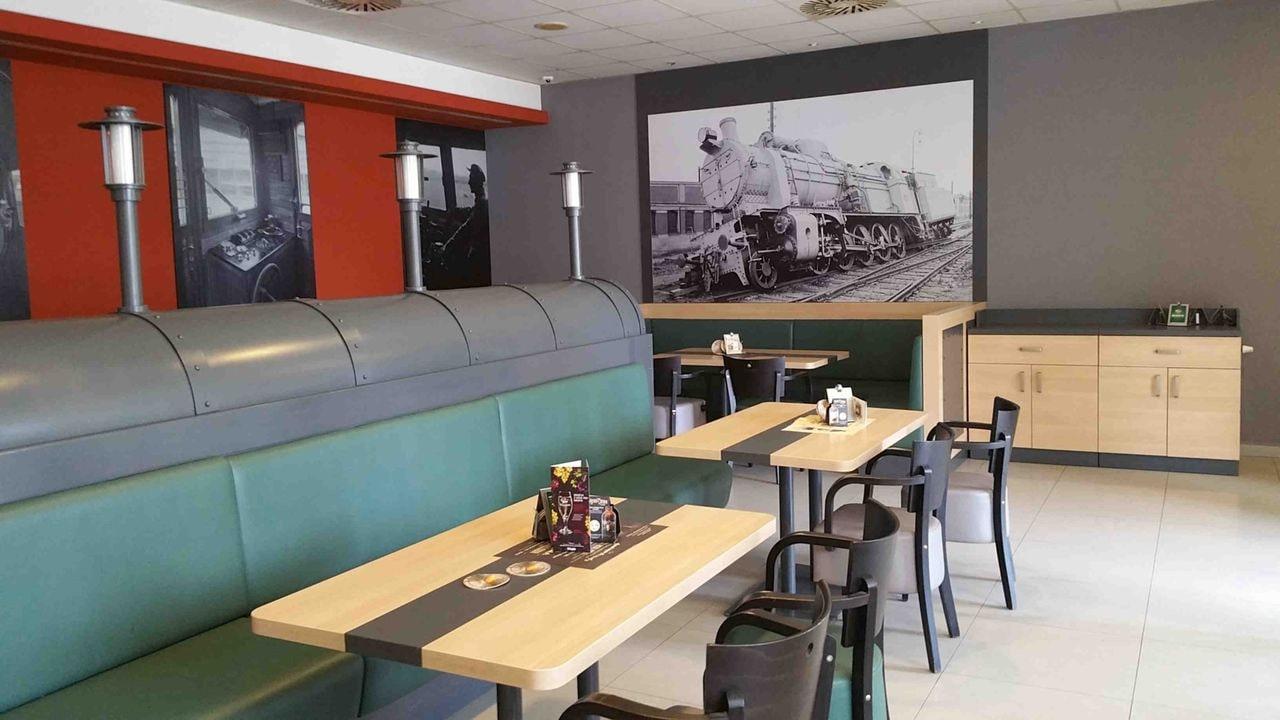 Restaurace Lokálka na nádraží v Břeclavi