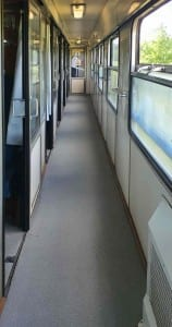 Ulička vozu Bee 243