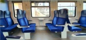 Sedadla vozu 295