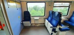 Místo pro vozíčkáře ve vlaku