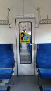 Sedadla vozu Bdt 80