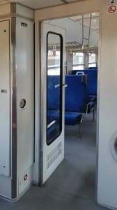 Vnitřní dveře vozu Bdt 280