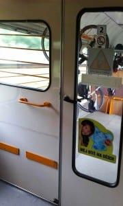 Vnitřní dveře vozu Bdtee 286