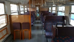 Oddíl k sezení ve voze 286