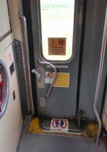 Dveře vozu Bdtee 286