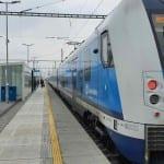 Šakvice vlakem