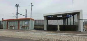 Autobus Šakvice, železniční stanice