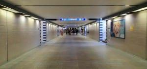 Podchod pod olomouckým nádražím