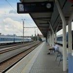 4.nástupiště u 12.koleje v Olomouci