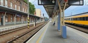 2.nástupiště, kolej 3 Olomouc