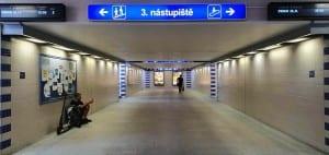 3.nástupiště v Olomouci