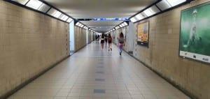 Pravý podchod na Olomouckém nádraží