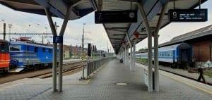 Popis olomouckého nádraží