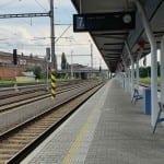 1A nástupiště, kolej 7 Olomouc hlavní nádraží