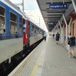 Popis 1.nástupiště v Olomouci
