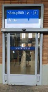 Train station Olomouc