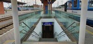 Podchod v Olomouci na hlavním nádraží