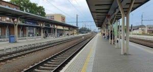 Nástupiště Olomouc