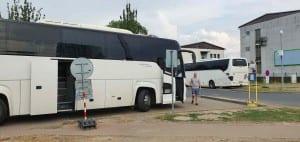 Stanoviště autobusové ND v Olomouci