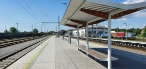 3.nástupiště Brno Dolní nádraží